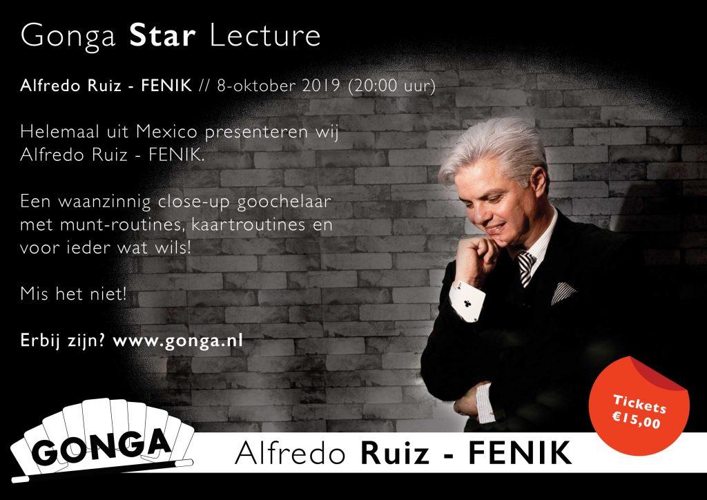 Gonga Star Lecture Alfredo Ruiz - Fenik
